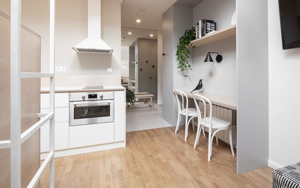 Súťaž Interiér roku: Miniatúrny podkrovný byt na krátkodobý prenájom