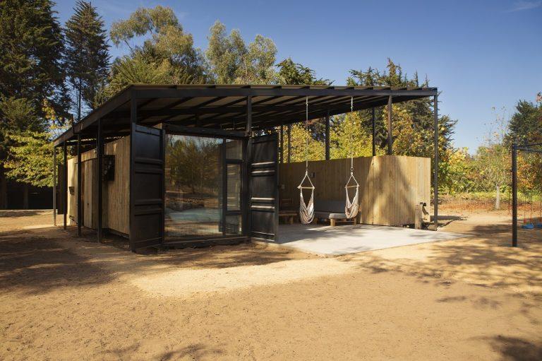 Ekologické bývanie vo flexibilnom kontajnerovom dome