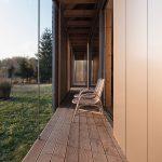 vonkajšia terasa drevostavby