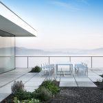 terasa rodinného domu s krásnym výhľadom