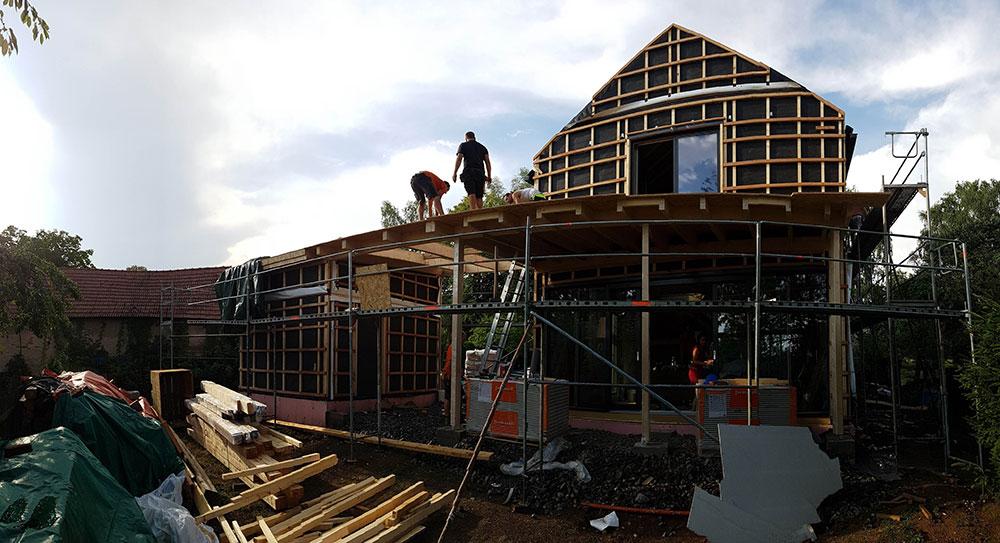 stavba rodinného domu Prokop