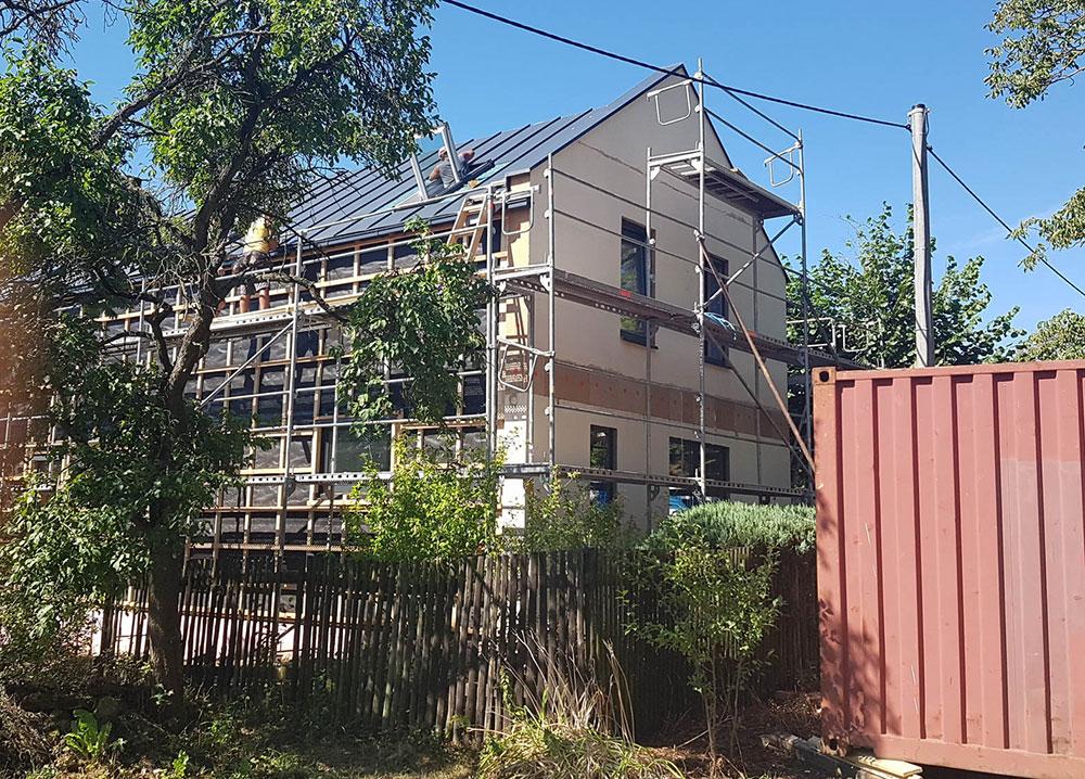 stavba drevostavby Prokop