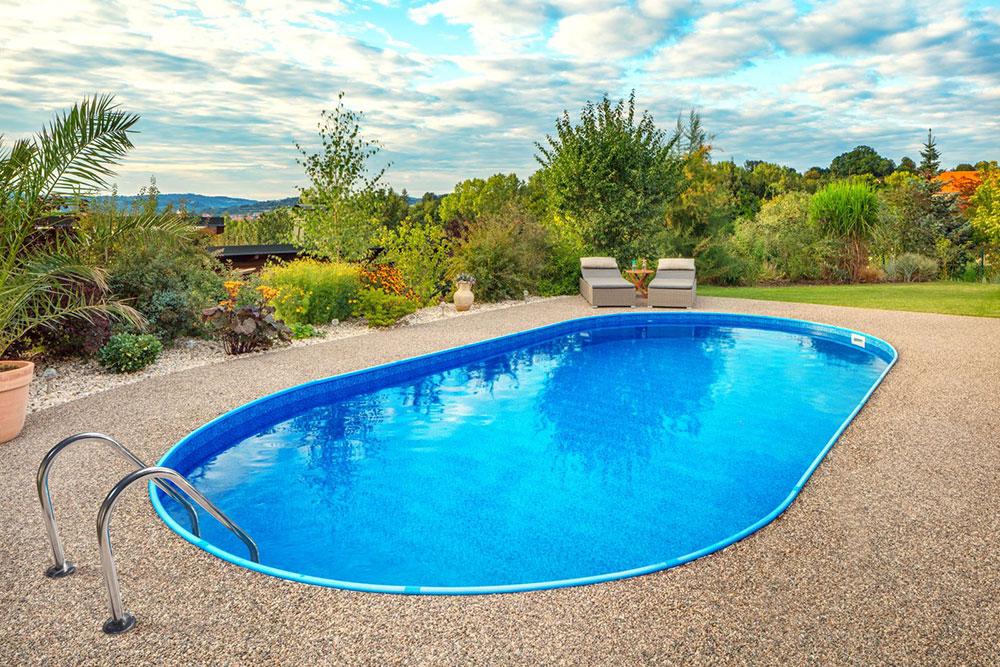 záhradný bazén