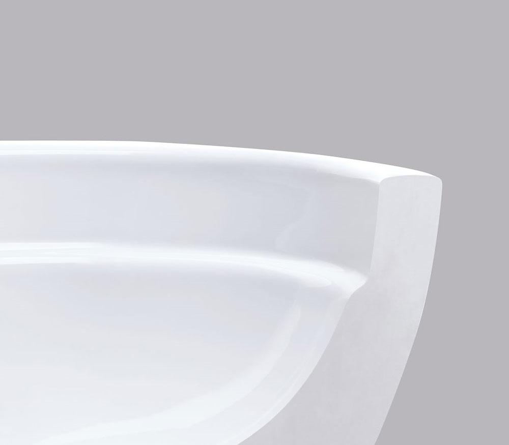 WC misa Geberit Rimfree bez splachovacieho okraja