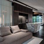 pohodlná modulárna pohovka