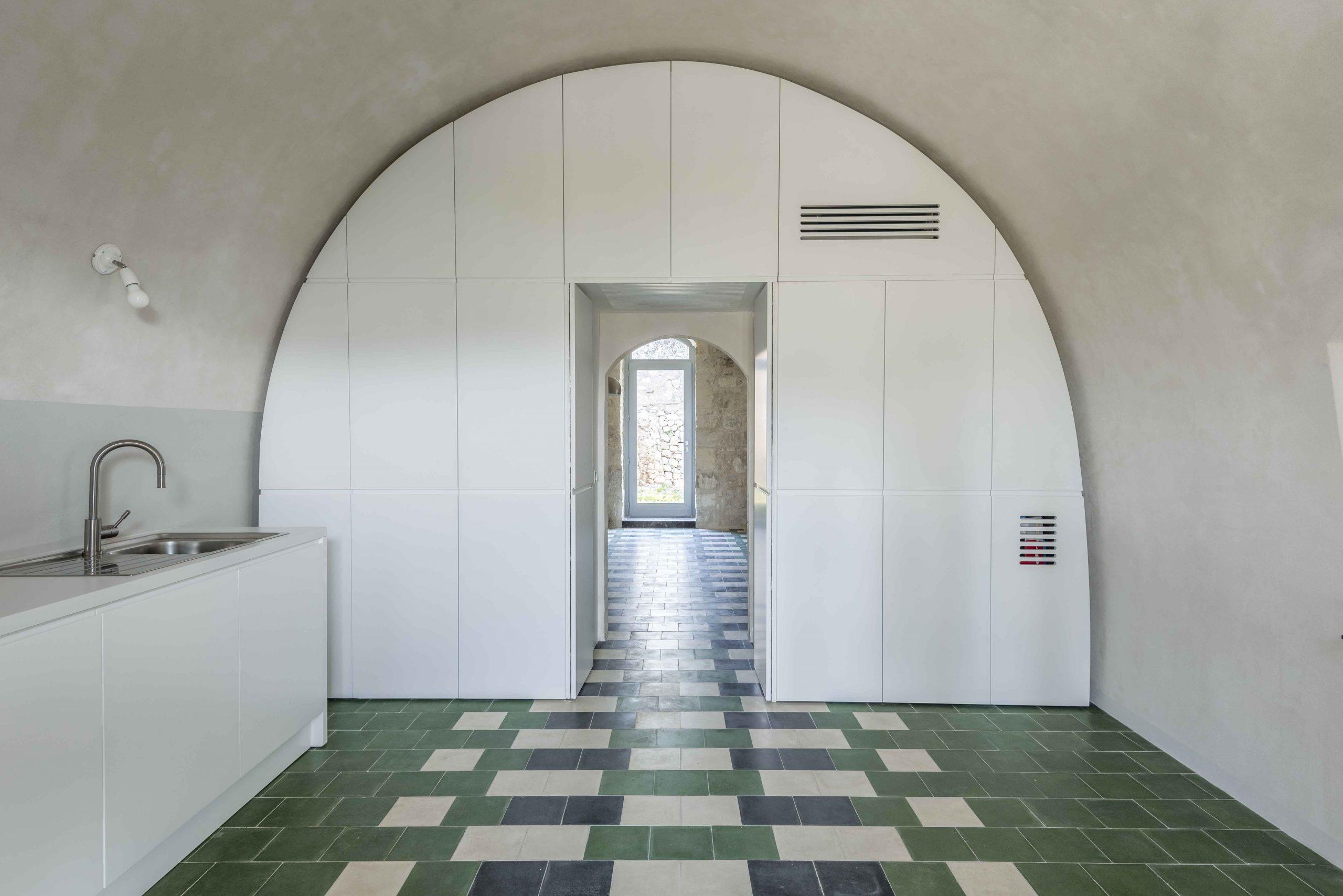 rekonštrukcia historického domu na Sicílii