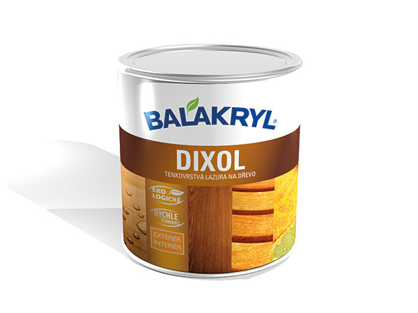 Populárna tenkovrstvá lazúra Balakryl Dixol