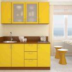 žltá farba v interiéri
