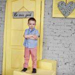 Žiarivo žlté dvere