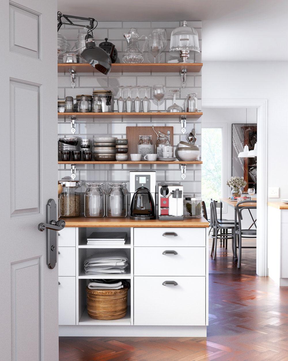 vintage kuchyňa