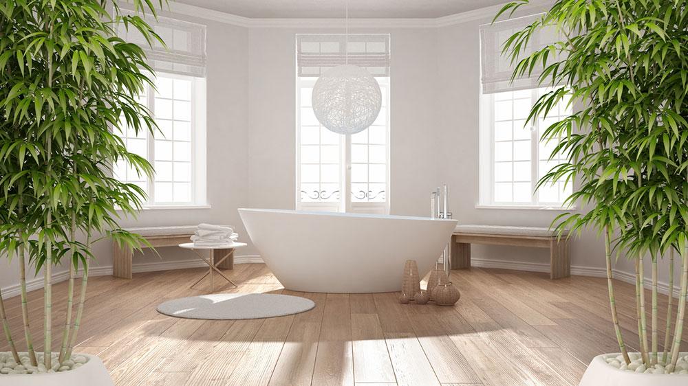 kúpeľňa s vaňou podľa Feng Shui