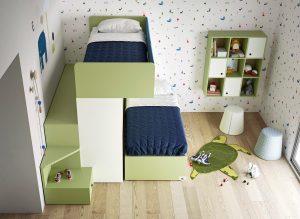 Poschodová posteľ pre deti: áno či nie?