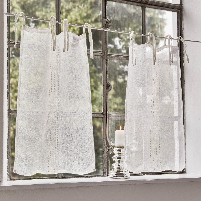 Súprava ľanových zácloniek