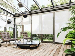 Ako zmeniť náladu interiéru pomocou záclon, závesov a roliet