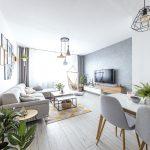 zrekonštruovaný panelákový byt v severskom štýle