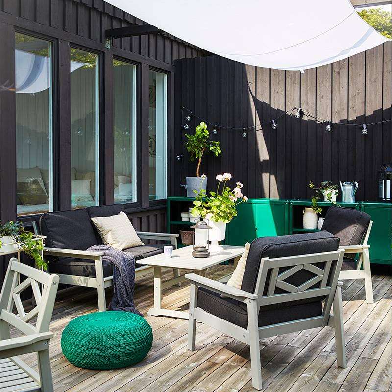 záhradný nábytok na terasu