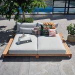 denná posteľ na terasu