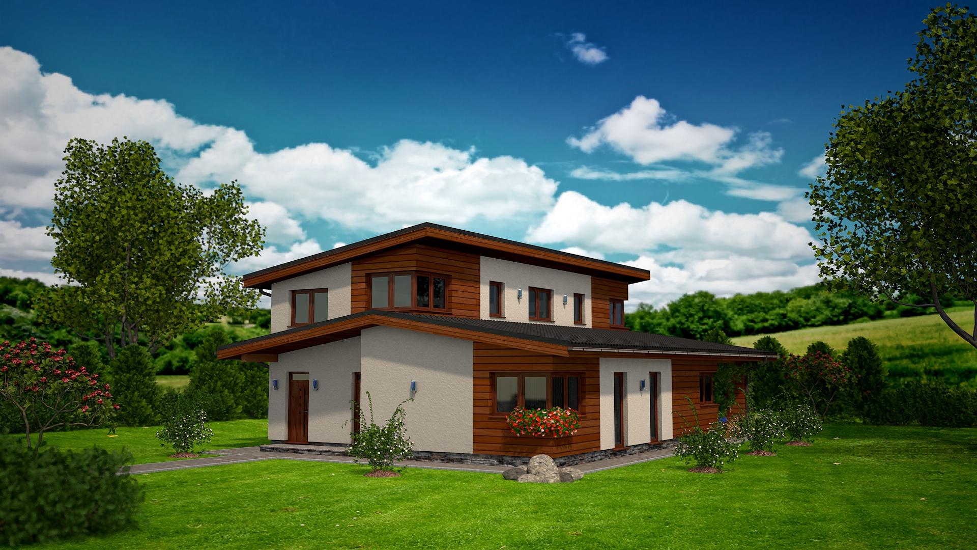 Projekt rodinného domu RM 169