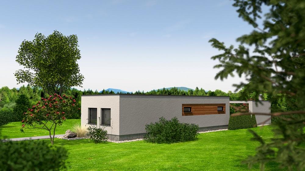 Projekt rodinného domu RM 80