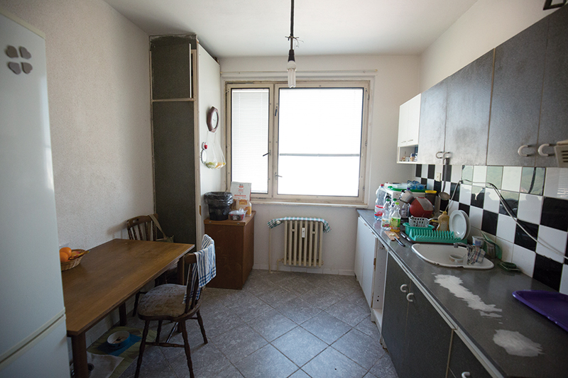 panelákový byt v pôvodnom stave