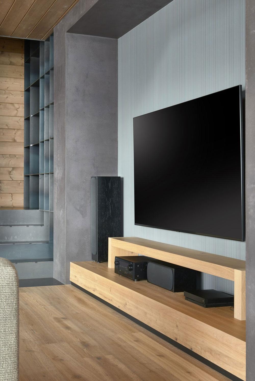 detail obývačky