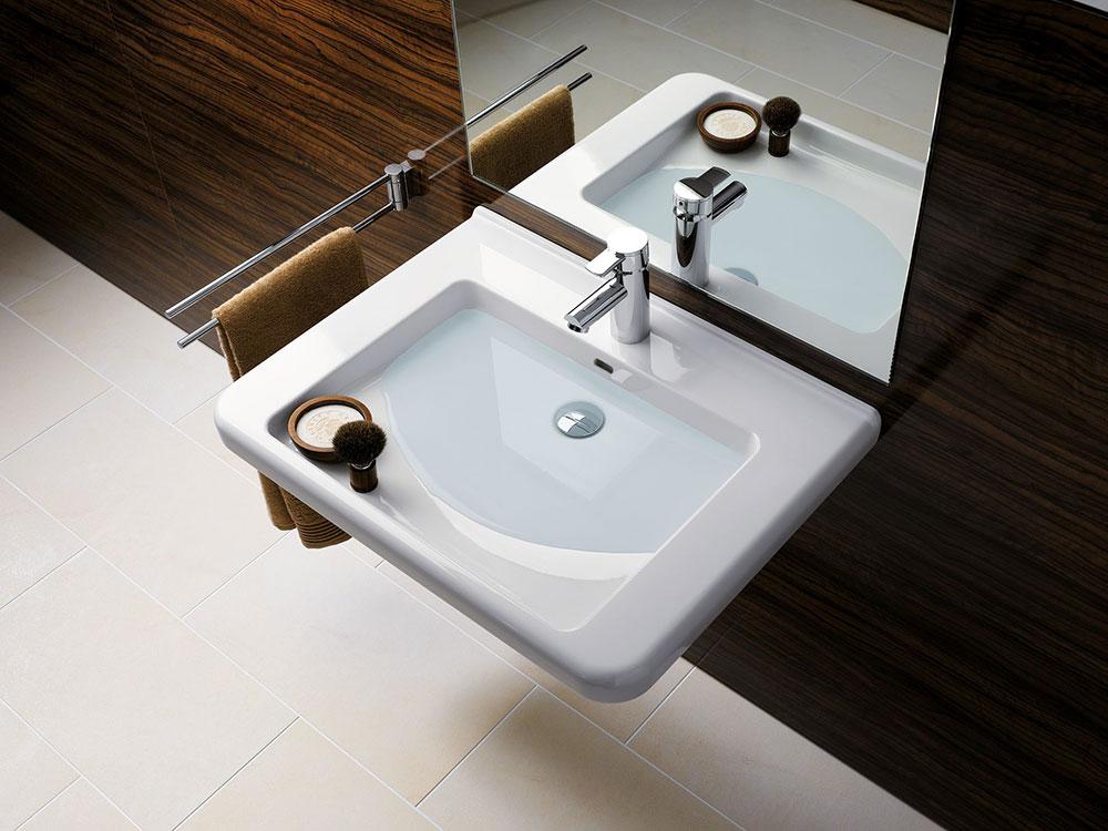Bezbariérové umývadlo