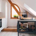 zrekonštruovaný podkrovný byt v Trnave