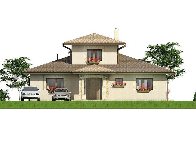 Projekt rodinného domu Javijani 116