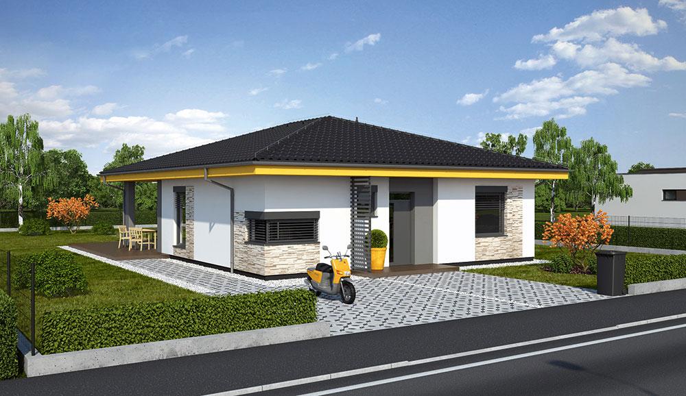 Projekt rodinného domu LAGUNA 412