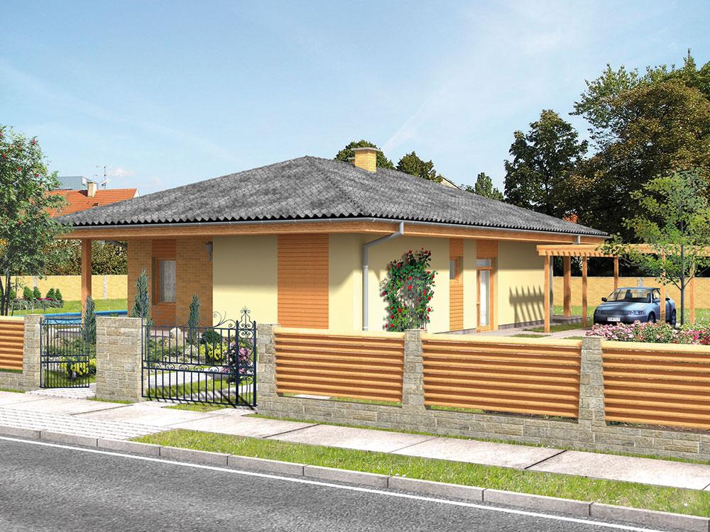 Projekt bungalovu