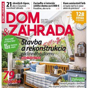 Nová publikácia Dom a záhrada v predaji