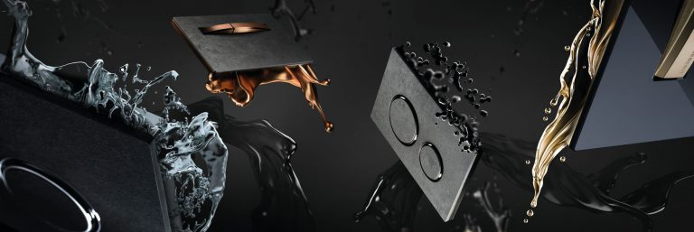 Ovládacie tlačidlá v atraktívnych metalických farbách