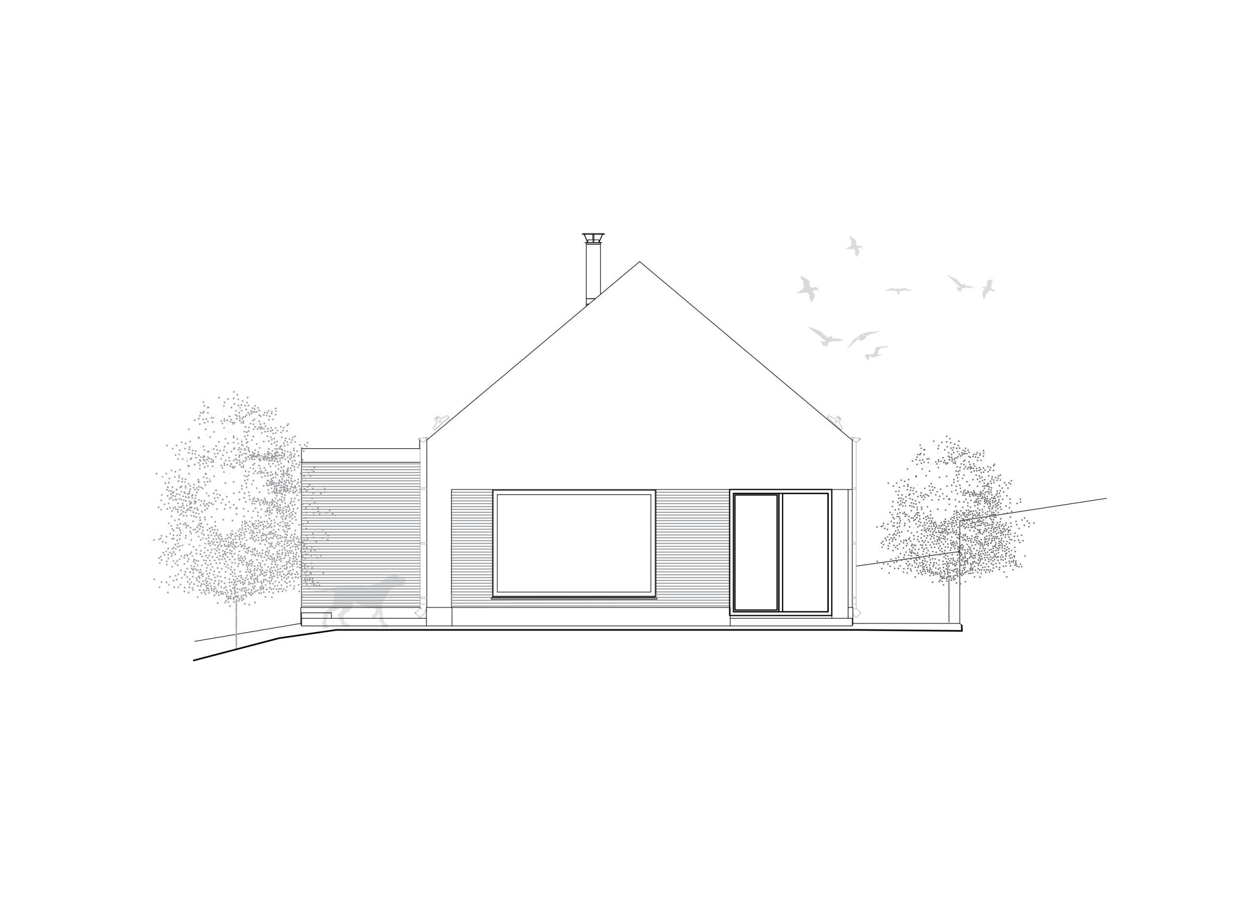 Projekt rodinného domu Ani veľký ani malý