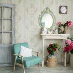 vintage izba so zrkadlom