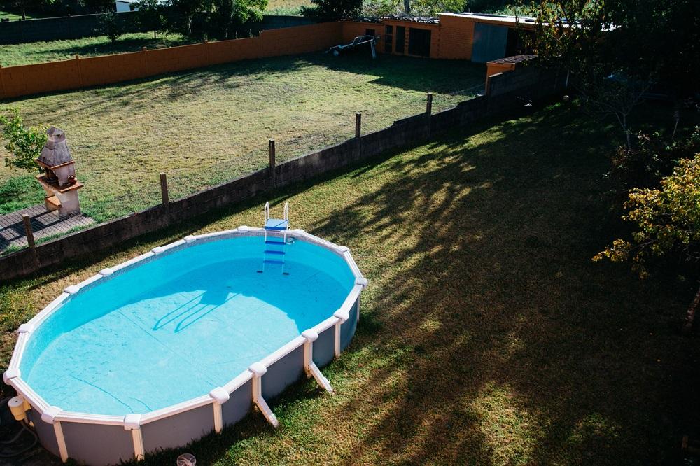 Nadzemný záhradný bazén