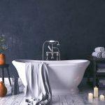 kúpeľňa v rustikálnom štýle