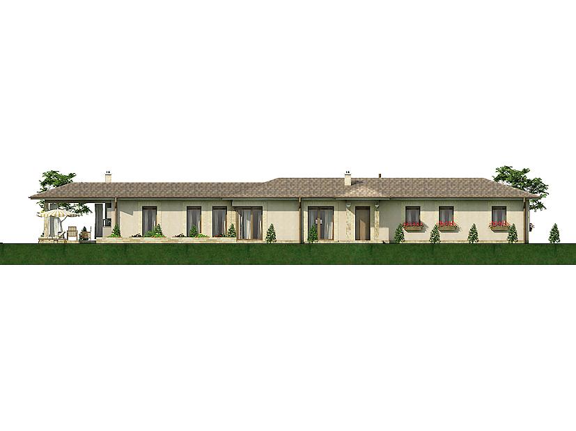 Projekt rodinného domu Javijani 117