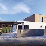 Projekt rodinného domu Platan