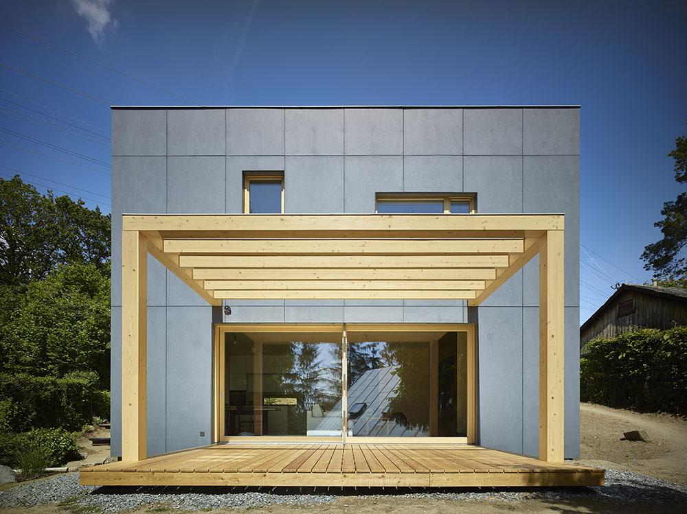 chata s vonkajšou terasou