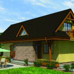 Projekt rodinného domu RM 85