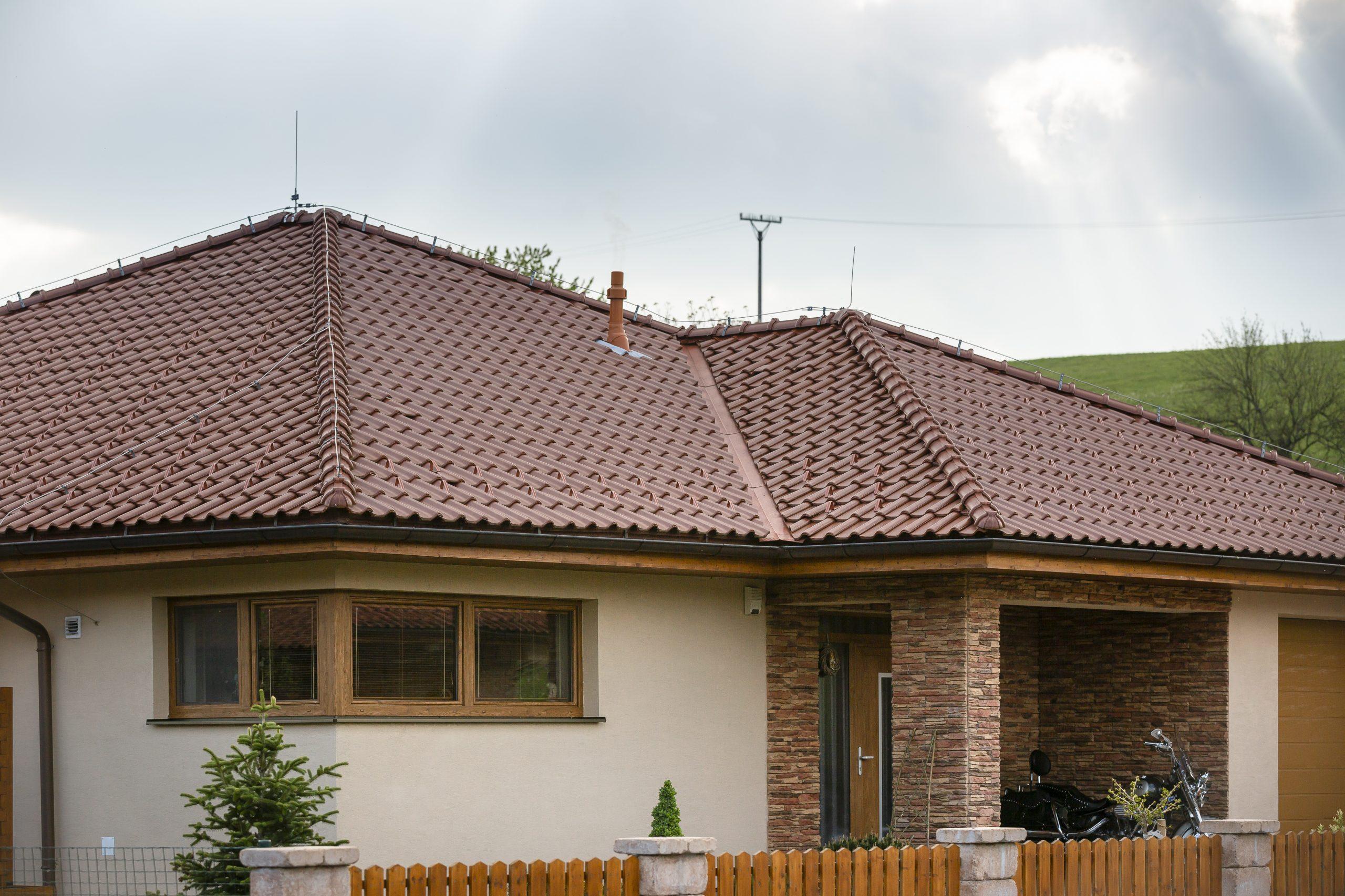 Strecha Tondach na rodinnom dome