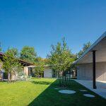 betónová prístavba domu