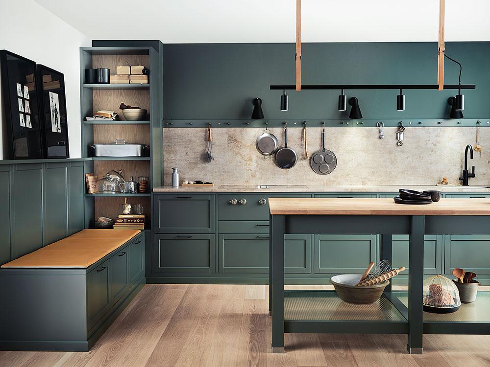 Najnovší kuchynský trend? Kuchynské linky bez horných skriniek!