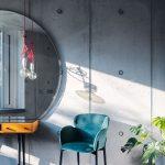pohľadový beton v interieri