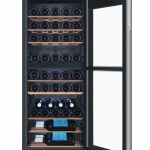 Voľne stojaca vínotéka Haier WS53GDA s kapacitou 53 fliaš vína