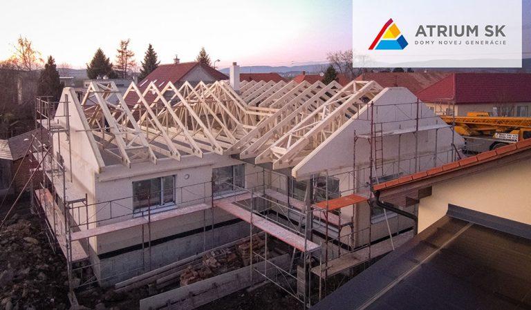 Prehliadka moderných drevostavieb vo výstavbe