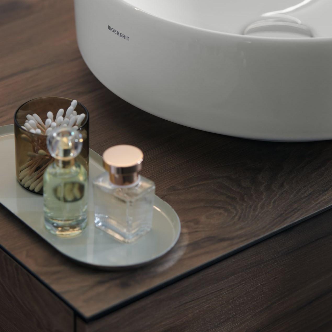 kúpeľňový nábytok, ktorý je určený pre umývadlá Geberit VariForm