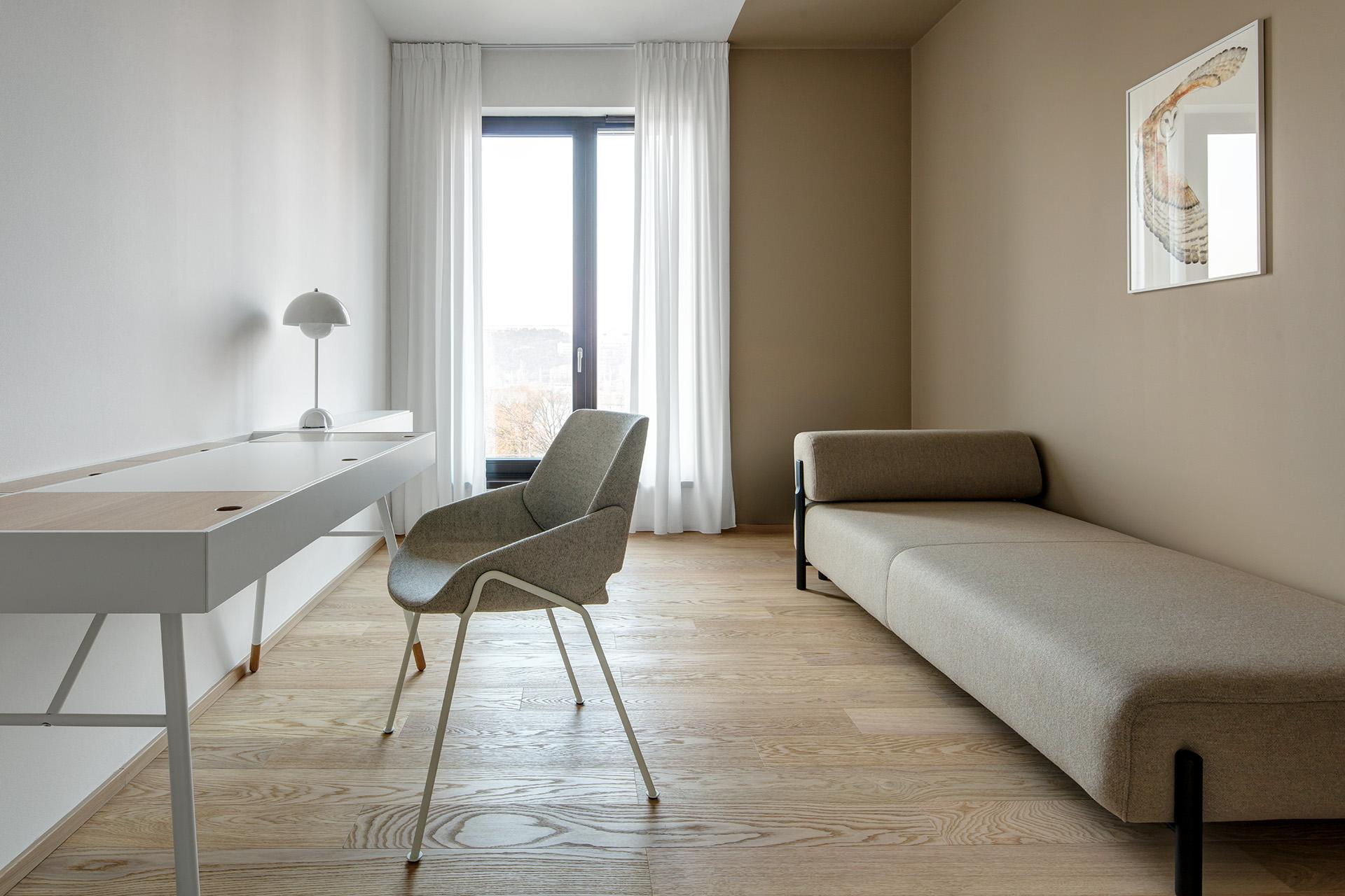 interiér pražského bytu Marina