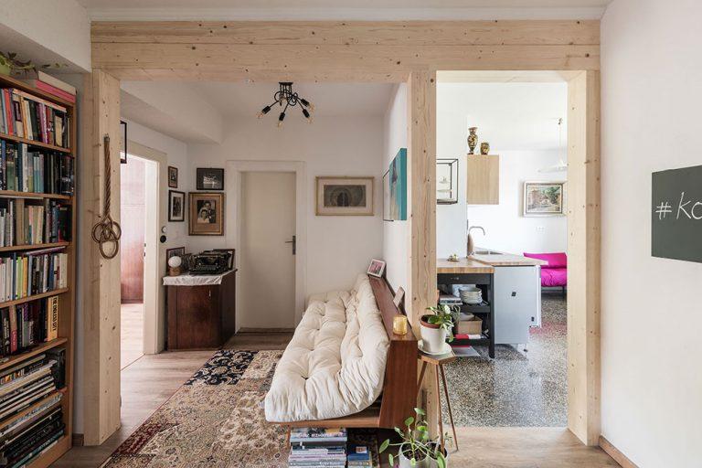 Úsporná rekonštrukcia na starom sídlisku 500 bytov: Z bytu starých rodičov byt pre vnučku