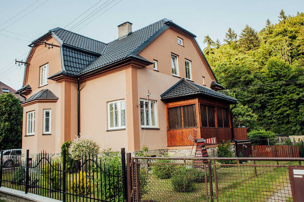strecha rodinného domu